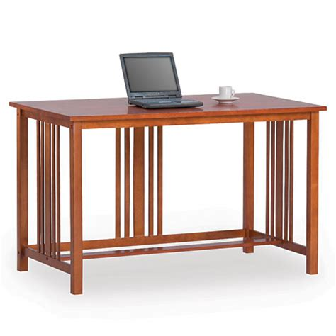 Mission Oak Computer Desk Computer Desk Mission Oak Finish Furniture Walmart