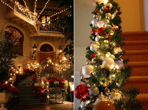 decorations for christmas christmas staircase decorations christmas fashion