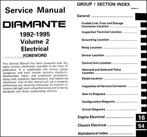 service manual old car manuals online 1992 mitsubishi 1992 1995 mitsubishi diamante repair shop manual set original
