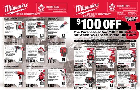 midland tools milwaukee power tool flyer midland tools