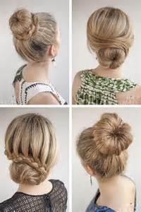 howtododoughnut plait in hair peinados recogidos f 225 ciles para todo tipo de cabello