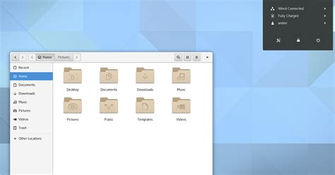 gnome user themes location gnome 3 20 released with various refinements and