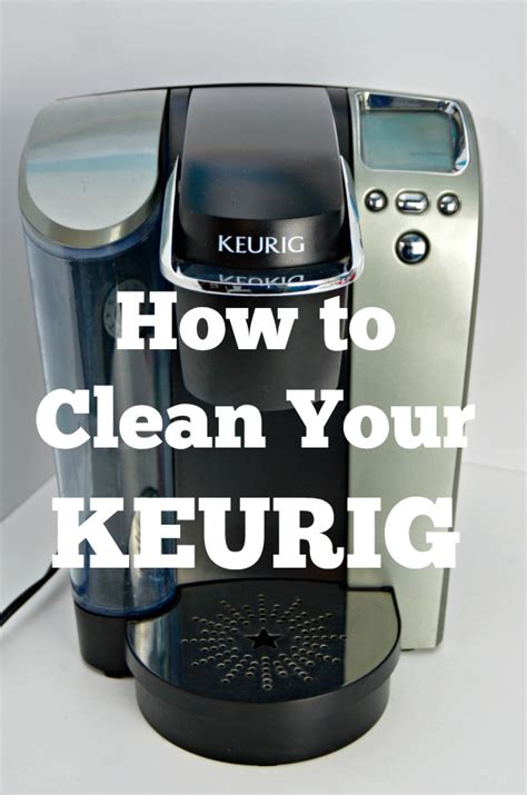How To Get A Clean Keurig Coffee Machine   Mom 4 Real