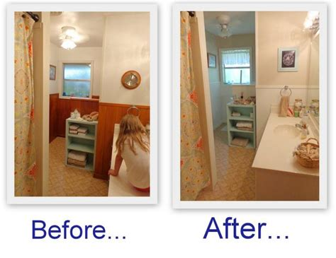 before and after updating a bathroom update before and after schneiderpeeps