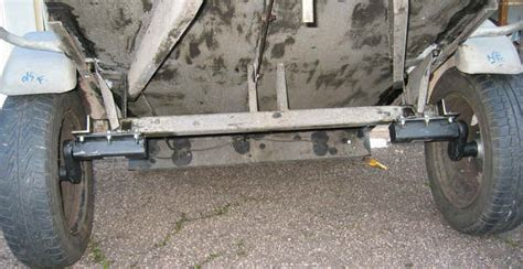 boat trailer rebuild kit rebuilding small car trailers new suspension