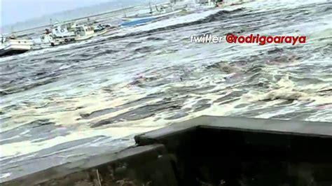 imagenes tsunami en japon impactantes 9 minutos del tsunami de japon japan youtube