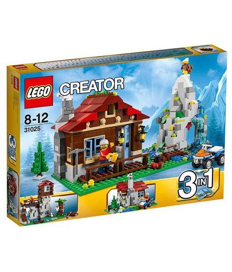 Lego Creator Mountain Hut 31025 lego creator 31025 mountain hut buy lego creator 31025 mountain hut at low price