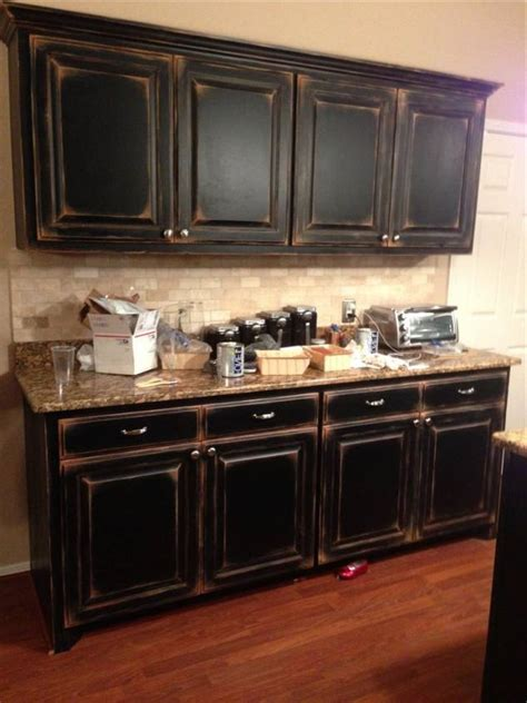 kitchen trends distressed black kitchen cabinets black cabinets with faux distressing used 3 different