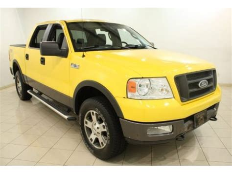 2004 Ford F150 Specs by 2004 Ford F150 Fx4 Supercrew 4x4 Data Info And Specs