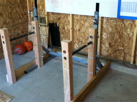 How To Make A Squat Rack by Squat Rack Garage
