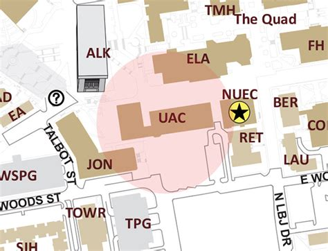texas state university cus map contact us national student exchange texas state university