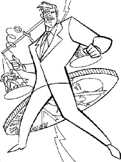 batman villains coloring pages coloring pages