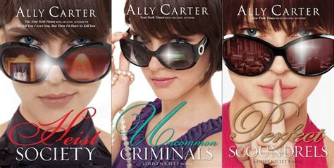 Heist Society books about cons heists and spies everywhere