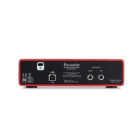 Focusrite 2i2 Second focusrite 2i2 2nd usb audio interface with reverb