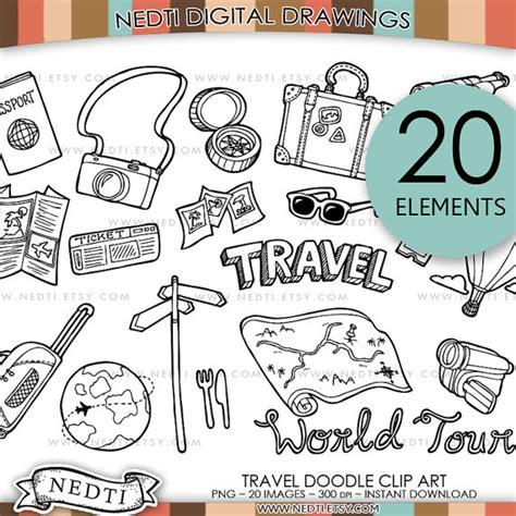 clipart viaggi scarica viaggio doodle clipart png instant clipart in