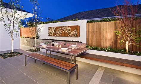 modern outdoor seating area home decorating trends homedit