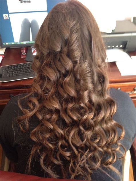 tapered wand hairstyles did this with hot tools tapered curling wand and i