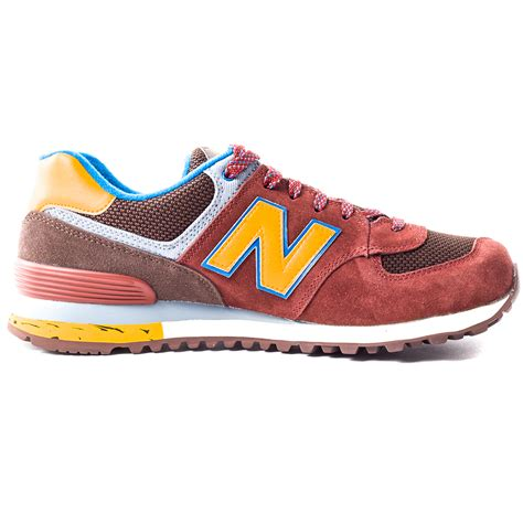 size shoes new balance ml574 tsz mens suede mesh burgundy trainers