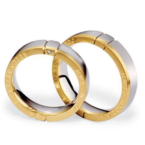s inscribed platinum yellow gold and band 270