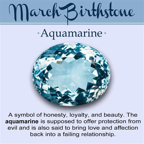 march color of birthstone for march meaning color and jewelry