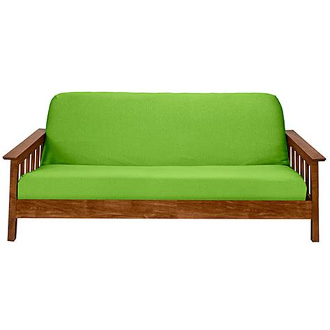 stretch futon cover stretch jersey futon cover lime boscov s