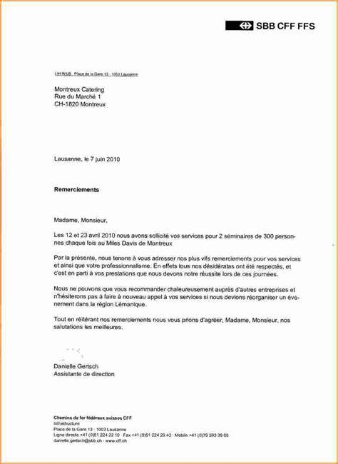 Exemple Lettre De Remerciement A Un Client 8 lettre de remerciment exemple lettres