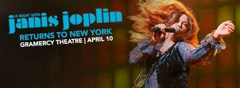 night  janis joplin   york citys gramercy theatre grateful web