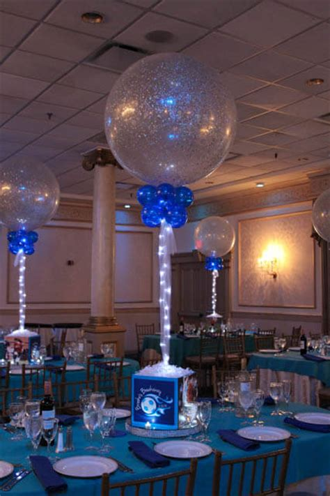 bar mitzvah centerpieces photo cube centerpieces balloon artistry