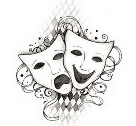 dramacool mask free coloring pages of drawing of the theatre