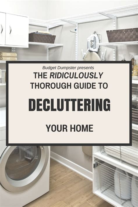 organizing your home where to start 263 best clearing the clutter tips for organizing images