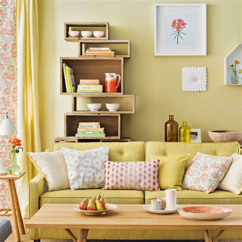 yellow themed living room summer living room ideas ideal home