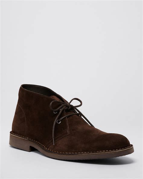 the s store at bloomingdale s suede chukka boots
