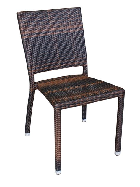 sedia rattan sintetico e18 sedia in alluminio e rattan sintetico per esterno