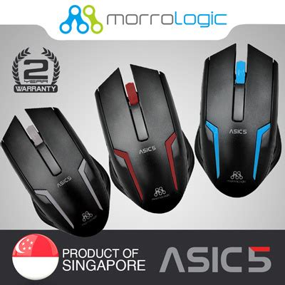Mouse Usb Alcatroz Asic 5 qoo10 alcatroz usb wired mouse asic 5 2 years