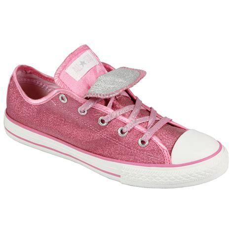 pink converse shoes converse all chuck 628057 pink glitter