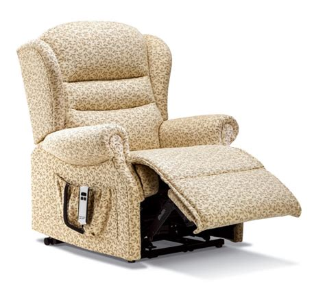 small fabric recliners ashford small fabric electric riser recliner sherborne
