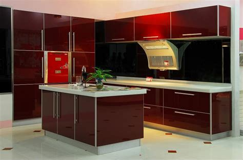 Kitchen Mdf Cabinets Uv On Mdf Kitchen Cabinet Ared China Manufacturer Kitchen Furniture Furniture Products