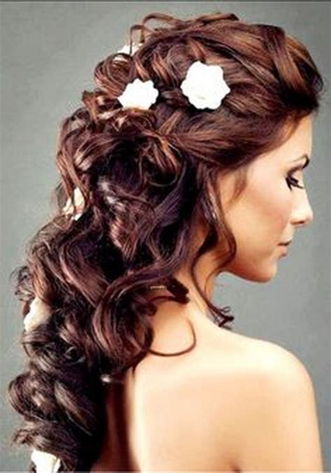 wedding hairstyles curly hair up half up curly wedding hairstyles