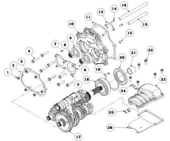 harley davidson transmission diagram transmission bearing failure page 5 harley davidson forums