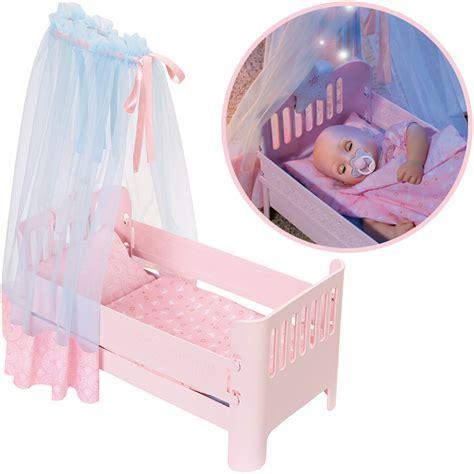 baby annabell bett zapf creation baby annabell sweet dreams bett rosa bei
