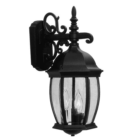 Overstock Outdoor Lighting Clearance Overstock Light Kingston Black Outdoor Wall Lantern Lighting Fixture Ebay