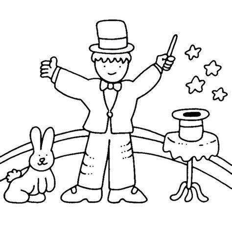 imagenes animadas para pintar dibujos de magos y magia para colorear