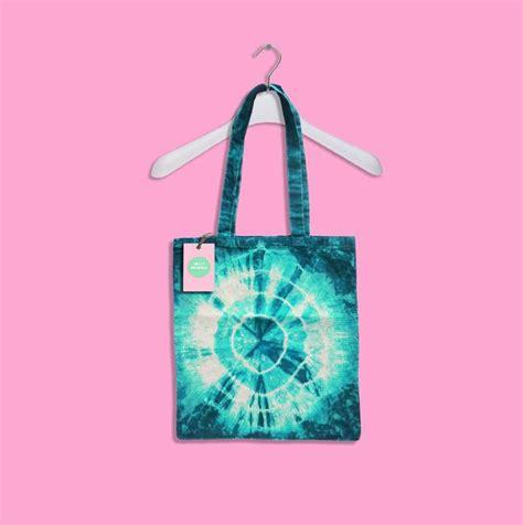 teal tie dye tote bag teal green blue tie dye bag eco