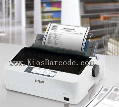 Mesin Printer Epson Lx 310 epson lx 310 kios barcode