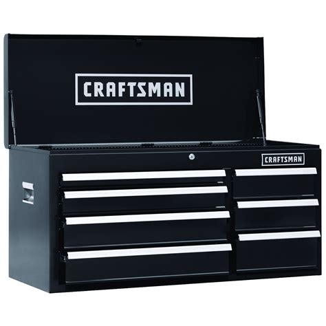 Craftsman 7 Drawer Tool Chest by Craftsman 40 In 7 Drawer Heavy Duty Bearing Top