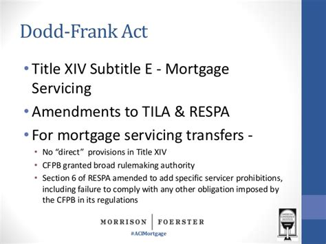 respa section 9 respa section 6 mortgage servicing transfers meeting the