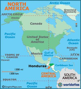 honduras world map tegucigalpa honduras world map