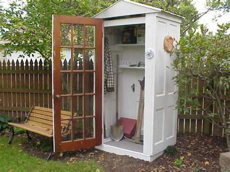 Cool Tool Shed by Tool Shed Made Out Of 4 Doors Gardens