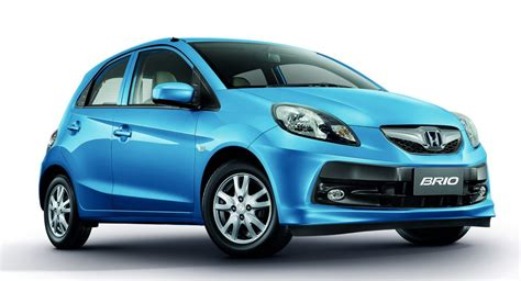 brio new honda launches new brio facelift in thailand gets a