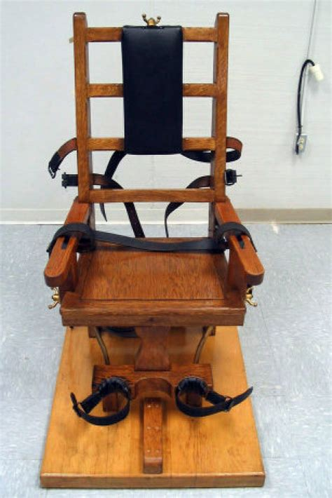 Faces Of Electric Chair by Lethal Injection Faces Renewed Attack Toronto